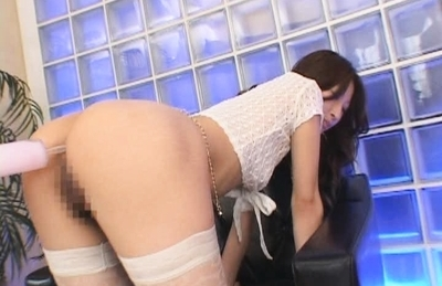 Girl with cute ass Ahihiro Hara gets her anal stuffed on close-up vid