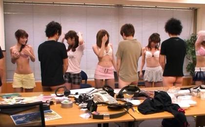Girl in a tiger dress Saki Ogasawara experiences Asian anal intrusion
